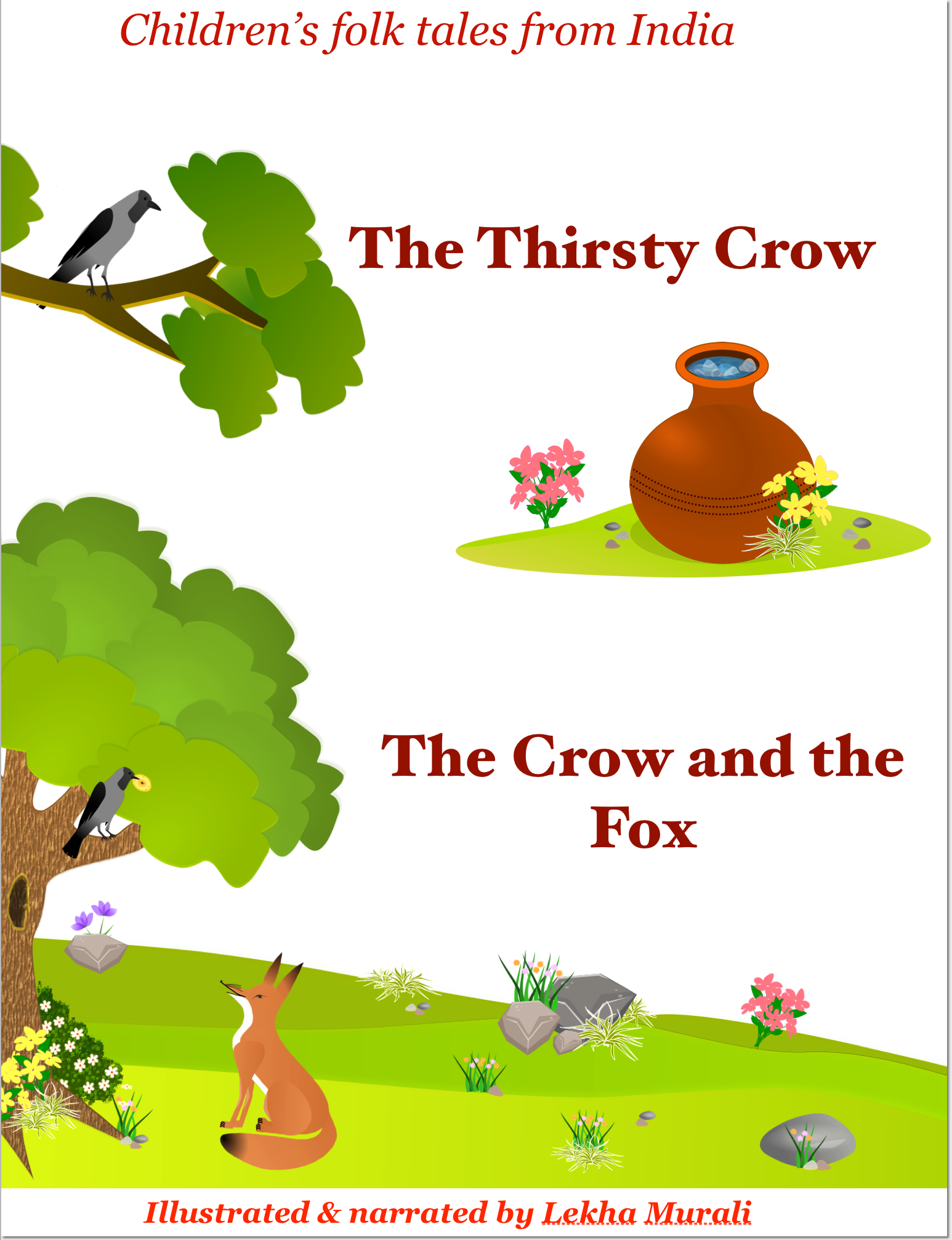 Thirsty crow cover